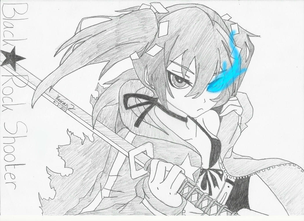 Black Rock Shooter by keenan905