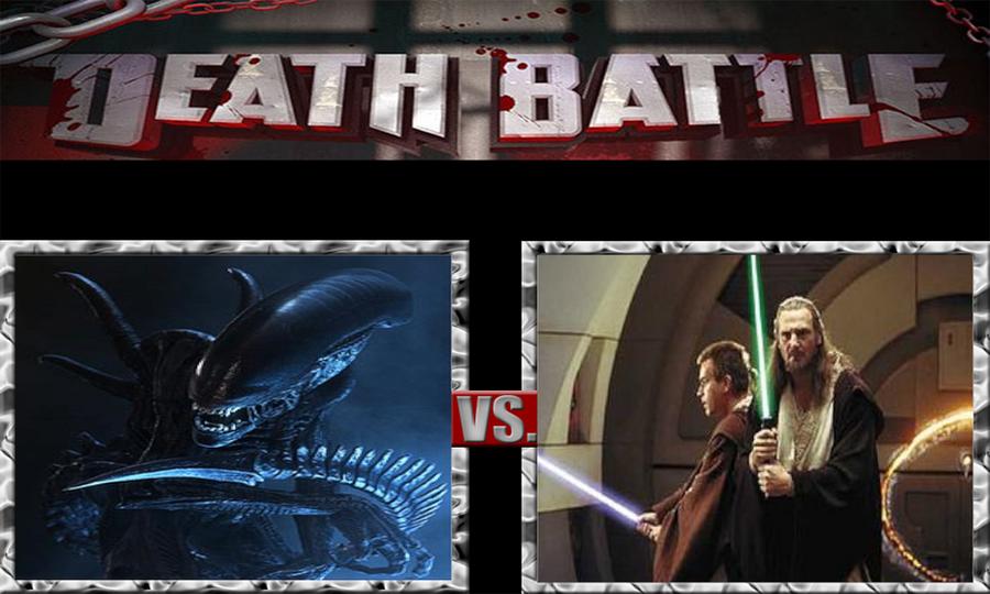 Xenomorphs vs. Jedi by ScarecrowsMainFan