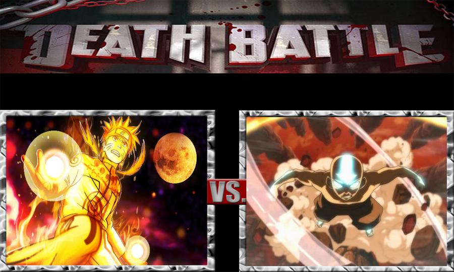 Naruto Uzumaki vs  Aang the Avatar by ScarecrowsMainFanNaruto Vs Avatar