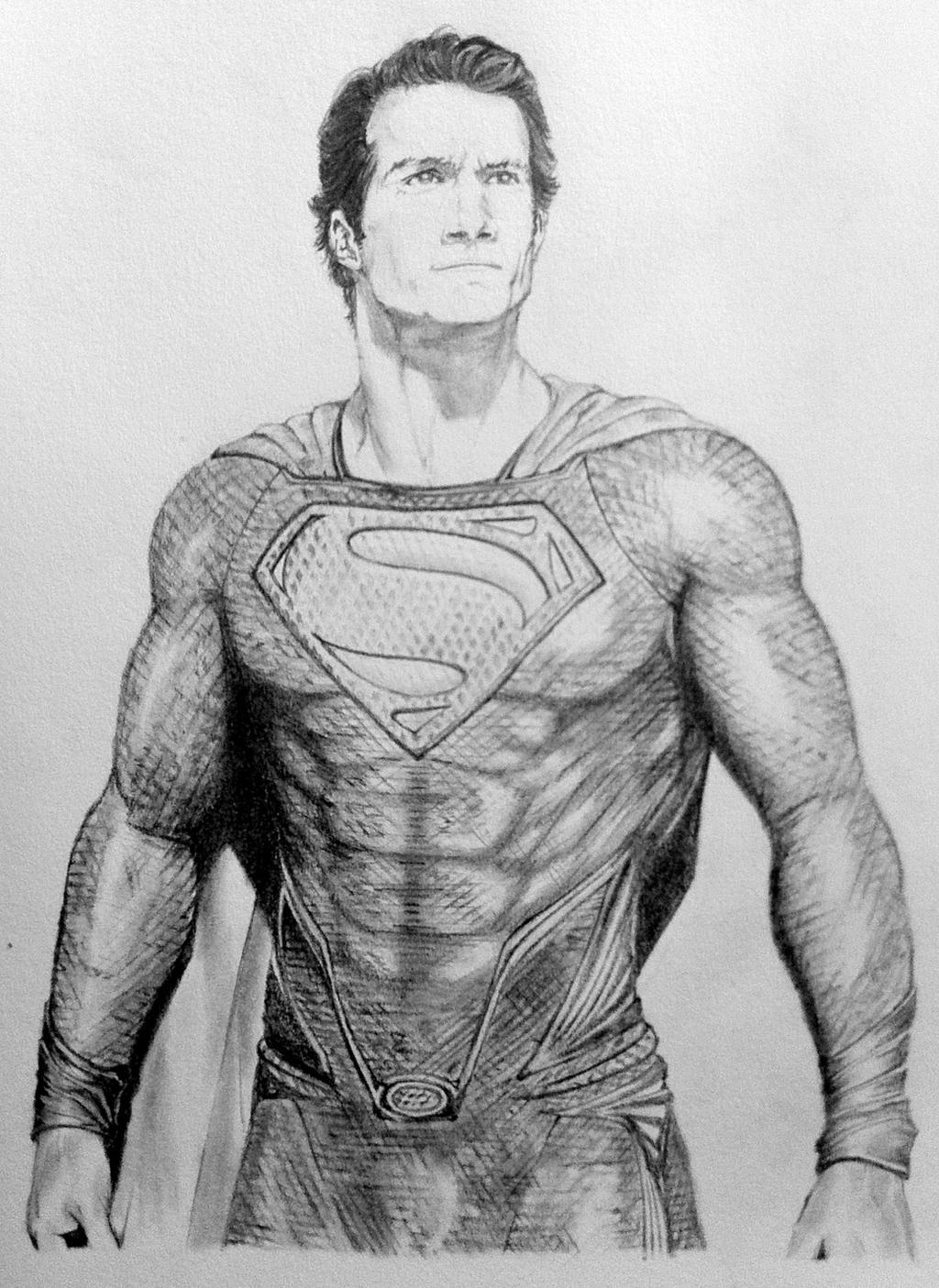 Man of steel by danew guuy on deviantart for Man of steel coloring pages