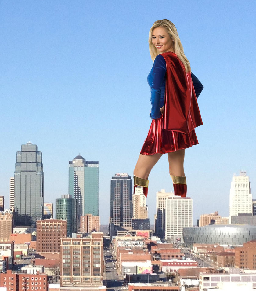 Supergirl Giantess by pedro1232 on DeviantArt