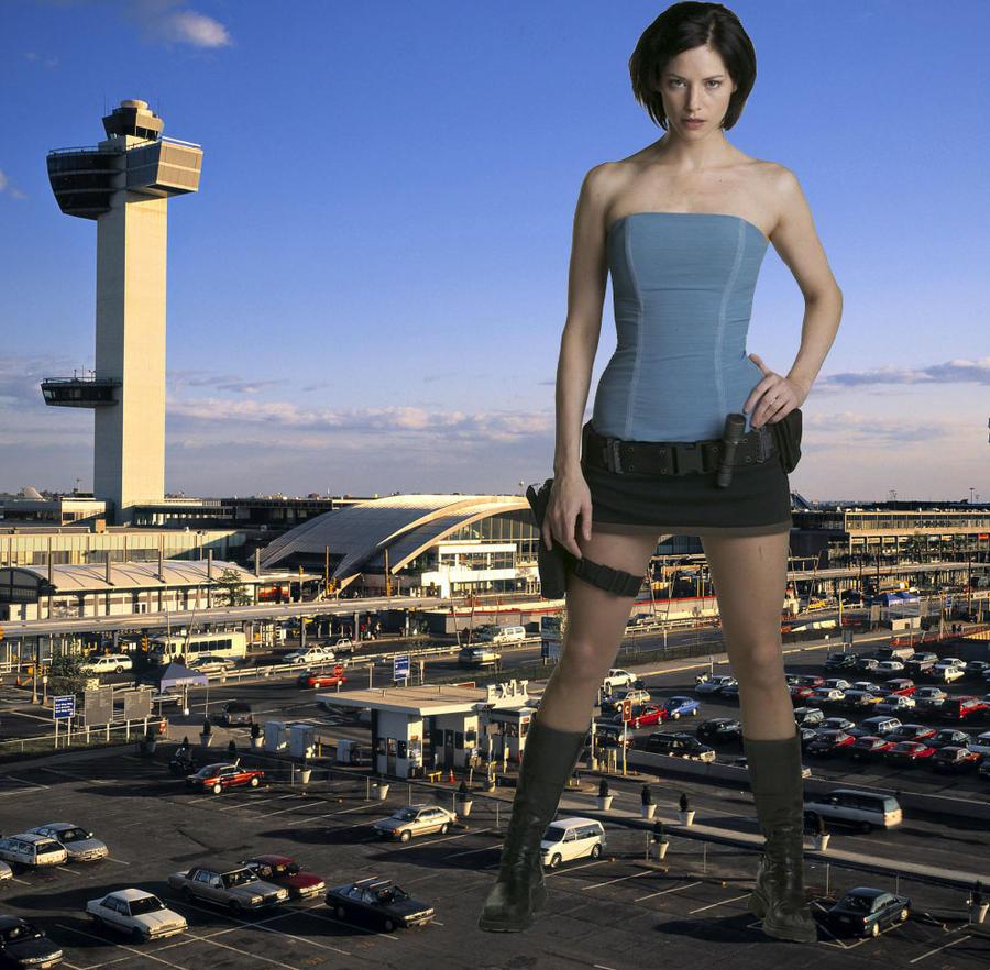 Giantess Jill by pedro1232