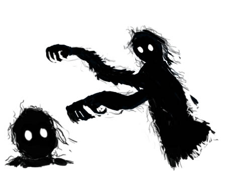 Shadow Creature by Omikron9 on DeviantArt  Shadow Creature...