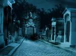 premade background graveyard