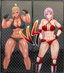 Cage Match - Andrea vs Judith 1