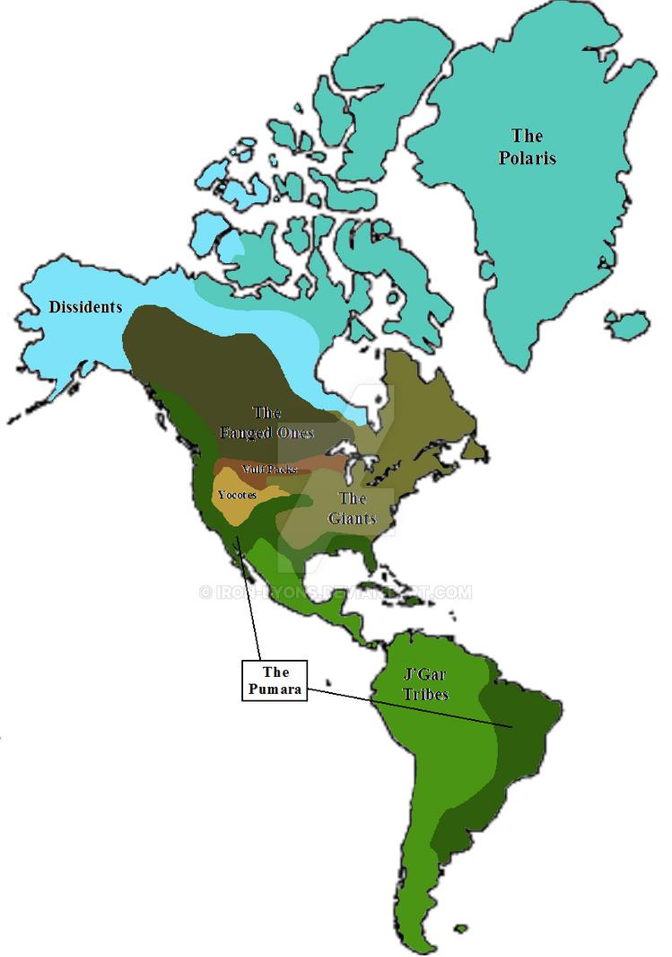 Lyons World Map