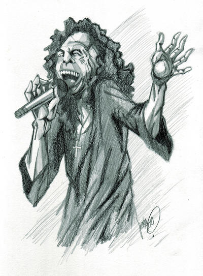 Ronnie james Dio by thunder-jk