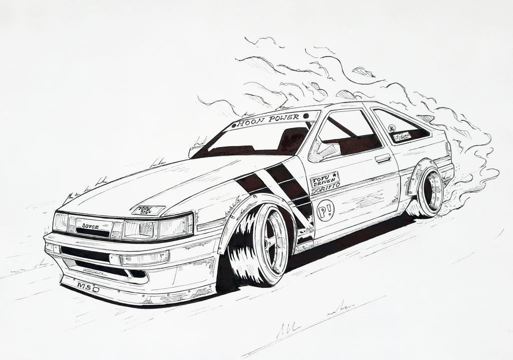 Toyota AE86 Levin by skyree010 on DeviantArt