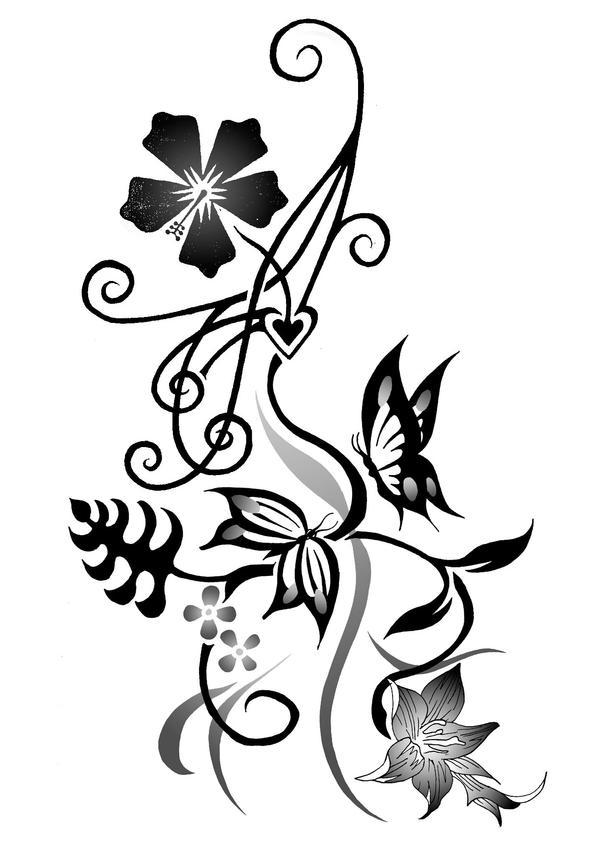 Kat 2008 2nd attempt - flower tattoo