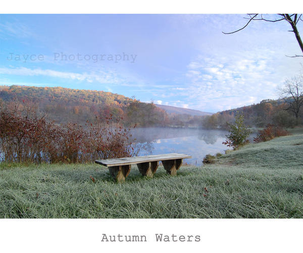 Autumn Waters by beslion