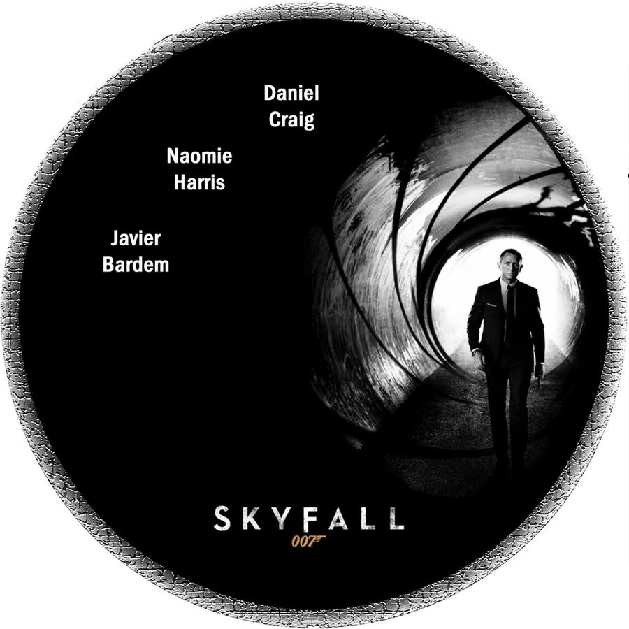 Skyfall Disc Label by RoadWarrior00 on DeviantArt