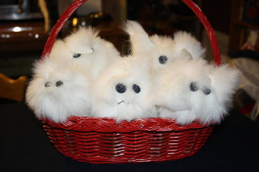 Basket full of fluffies
