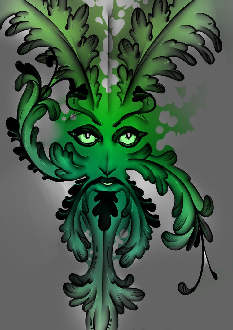 Leaf man by Daro1234frog