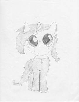 Cute Unicorn Filly