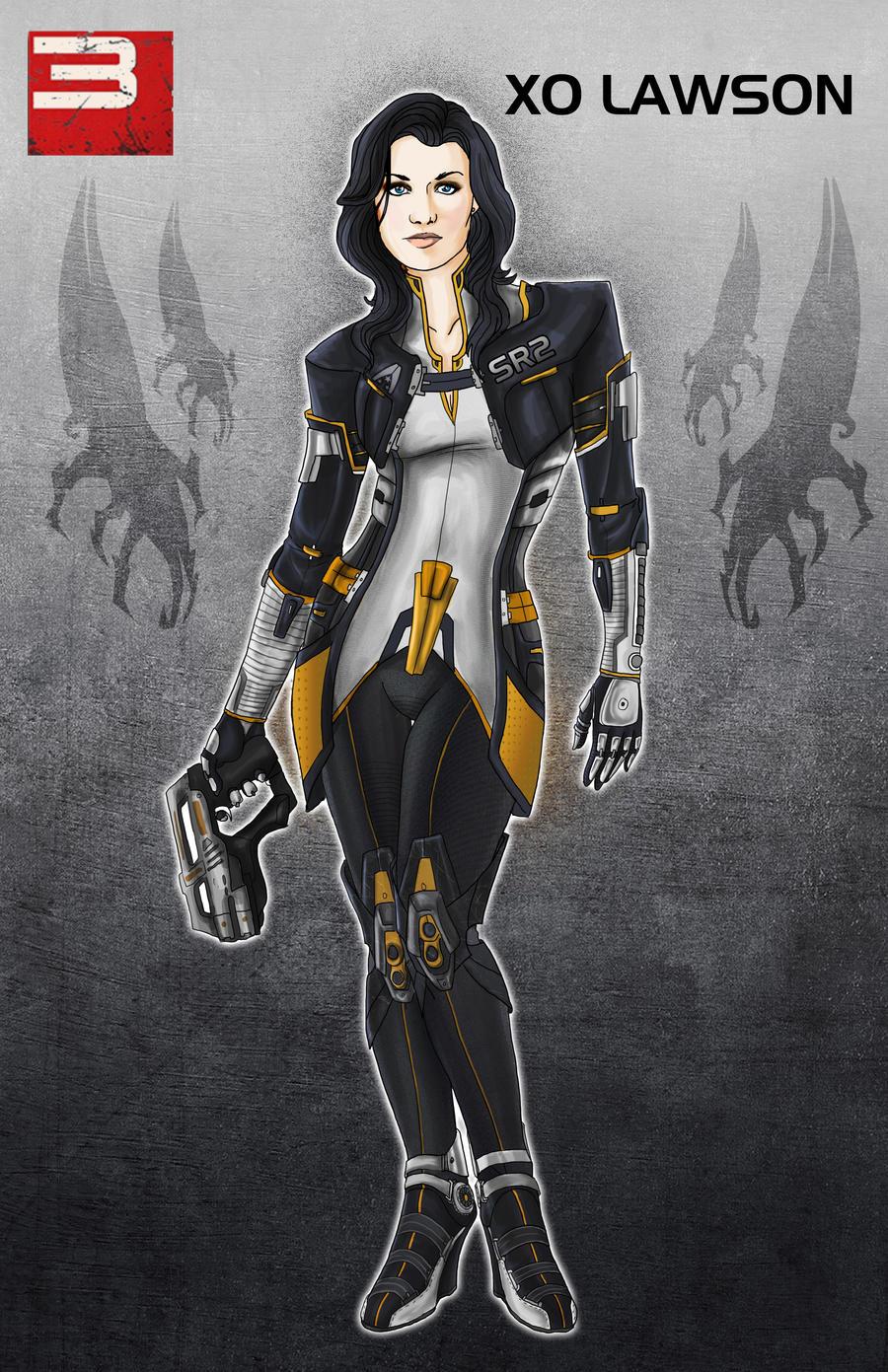 Miranda Lawson MASS EFFECT 3 by Spi-ritual-ity