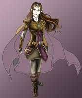 Princess of Destiny :WIP: by Spi-ritual-ity
