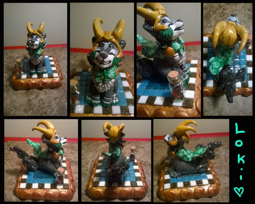 Loki by Kiwikichu