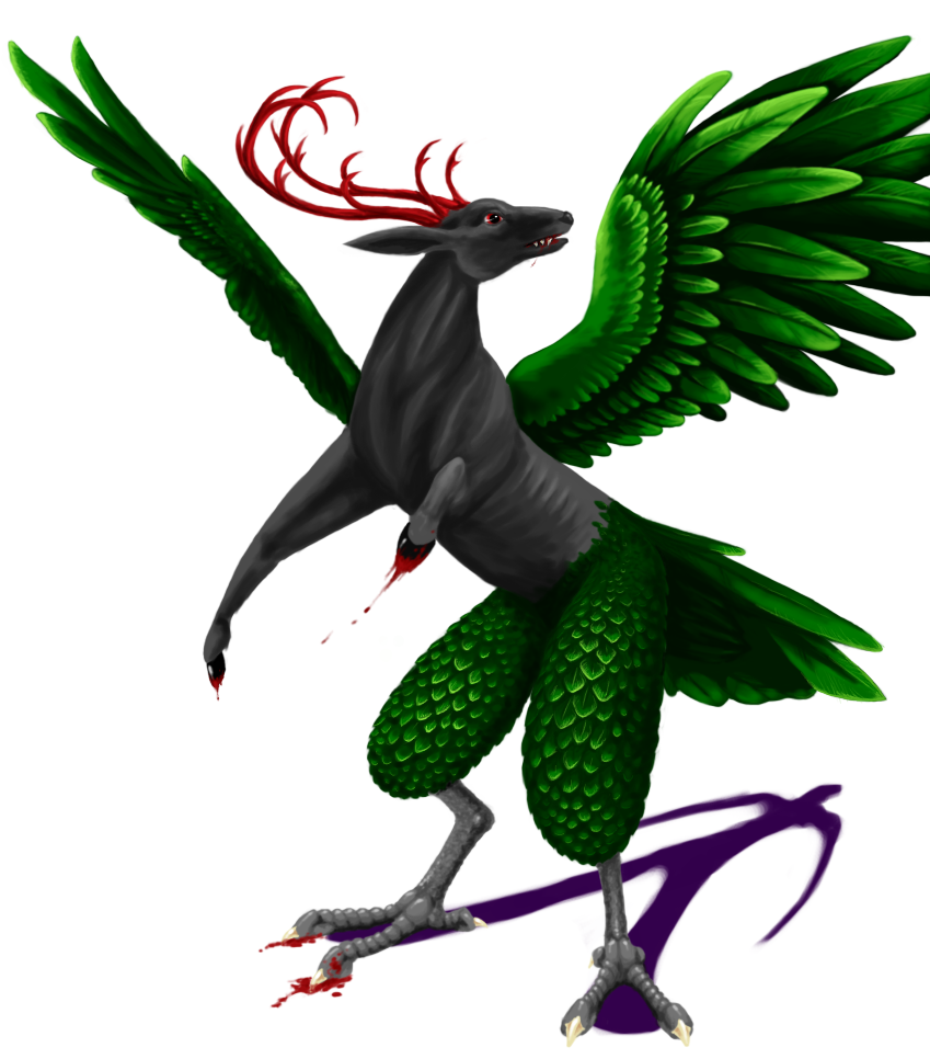 Bird Contest Mythical Creature By Windbladeicepuppy On