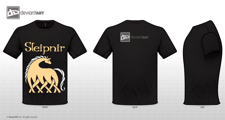 Sleipnir shirt by windbladeicepuppy