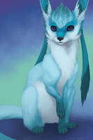 Eeveelutions - Glaceon by Evelar