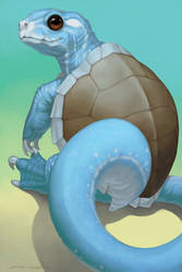 Starters - Squirtle by Evelar