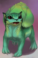 Starters - Bulbasaur by Evelar