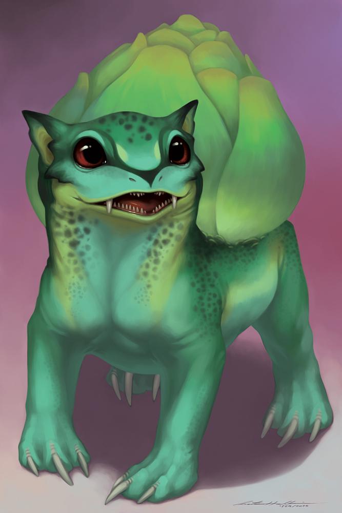 Starters - Bulbasaur by Evelar