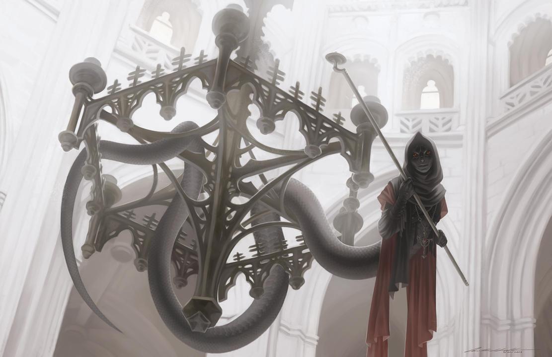 Monster Boy - Naga by Evelar