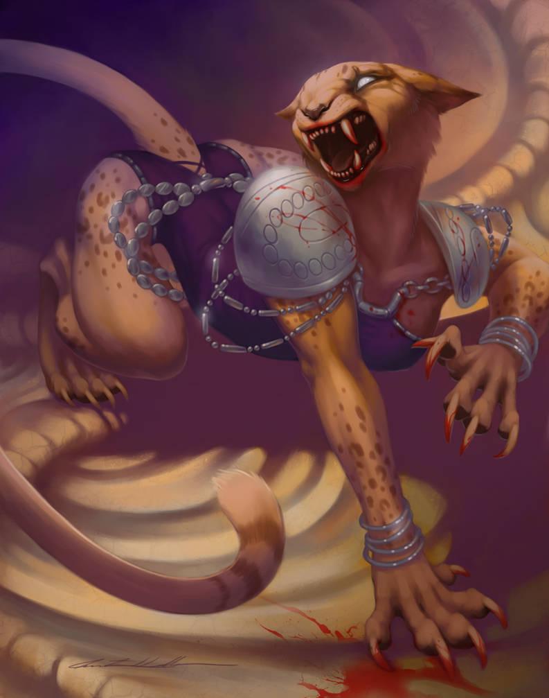 Commission: Mirri the Cursed box art by Evelar