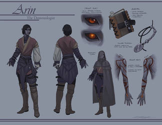 Reference - Arin by Evelar