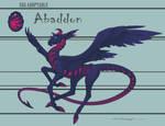 Egg Adoptable - Abaddon