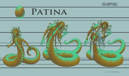 Egg Adoptable - Patina