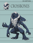 Egg Adoptable - Crossbones