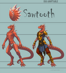 Egg Adoptable - Sawtooth