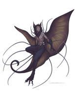 Spooktober - Bat Flower
