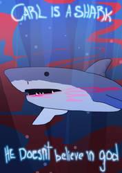 carl is a shark by EwEd96