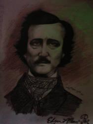 Edgar Allan Poe 1 by wilhelmblack1945