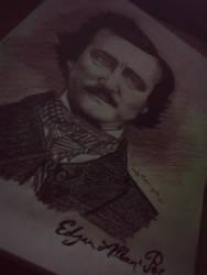 Edgar Allan Poe 2 by wilhelmblack1945
