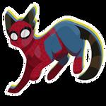 Spider-cat by Dragofelid