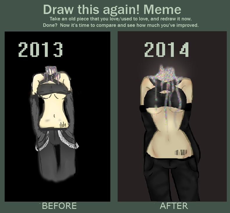 Draw It Again Meme by Fluffle-Puffz