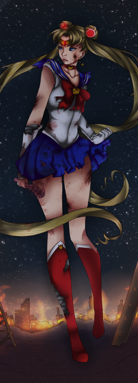 The Badass Sailor Moon || Re-Color by Fluffle-Puffz