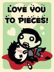 Zombie Addicts V-Day Contest by Sleepwalks