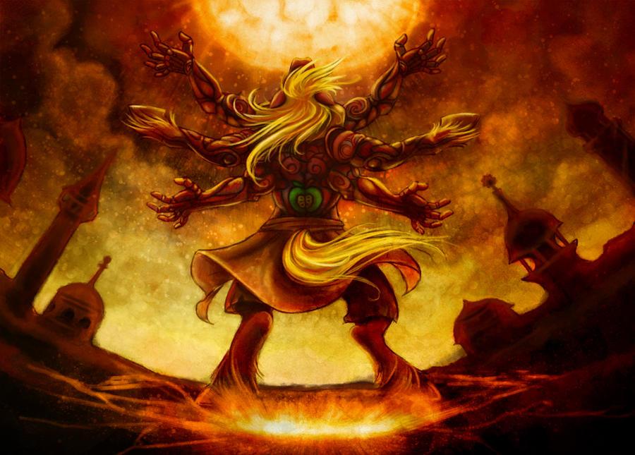 Asura's Wrath Big Macintosh by Sleepwalks on DeviantArt