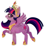 Princess Twilight Paper Vector