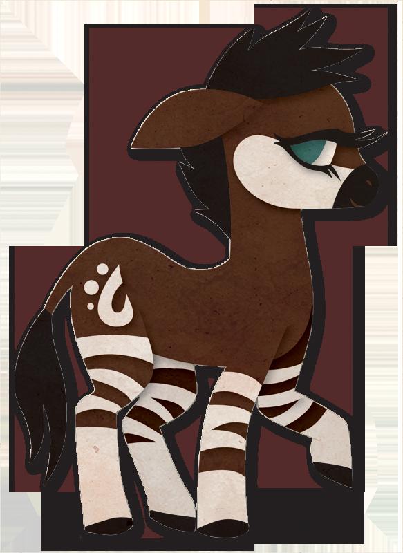 My Little Okapi By Sleepwalks On DeviantArt