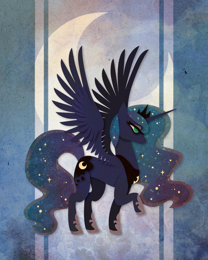 Luna Poster Layout by Sleepwalks