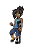 Pokemon Trainer Sprite of Nicodemas by Sleepwalks