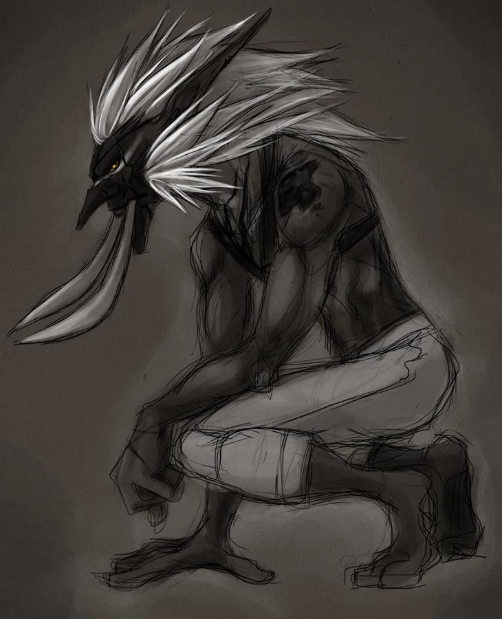 Zinye Sketch by Sleepwalks