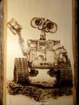 WALL-E - Wood burning
