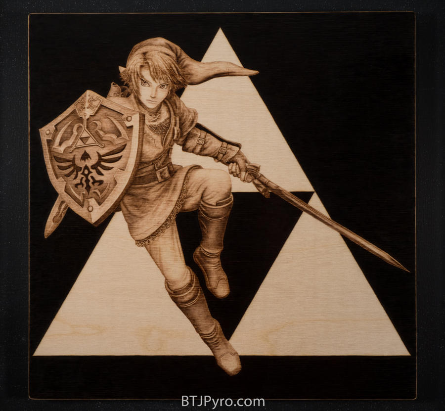 Link - Woodburning by brandojones